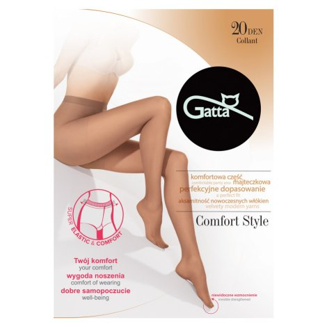 Dámské punčochové kalhoty COMFORT STYLE šedá Gatta