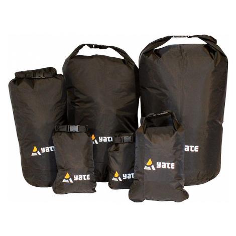 Nepromokavý vak YATE Dry Bag černá XS