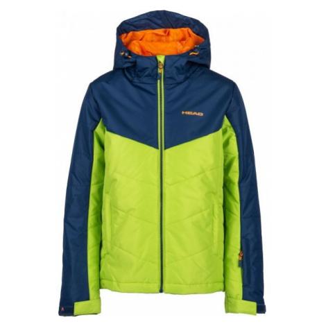 Head PALOMO zelená - Dětská zimní bunda