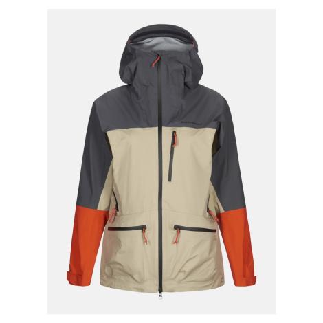 Bunda Peak Performance W Vislight C Jacket - Hnědá
