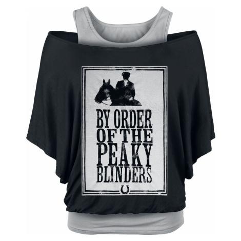 Peaky Blinders - Gangs Of Birmingham Framed Dámské tričko cerná/šedá