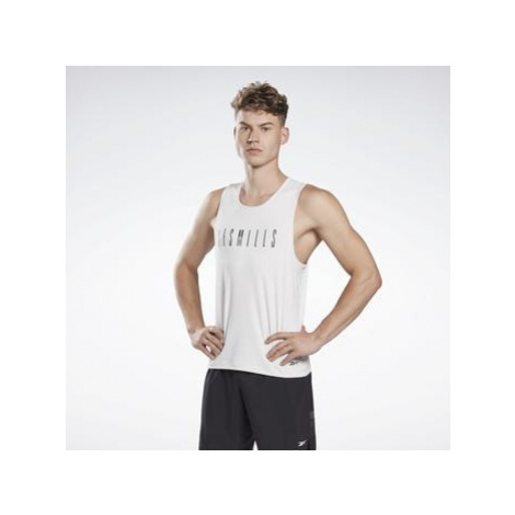 Reebok Sport LES MILLS® ACTIVCHILL Sleeveless T-Shirt Bílá