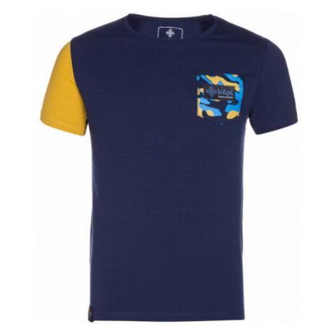 KILPI Chlapecké triko VIVAN-JB KJ0084KIDBL Tmavě modrá