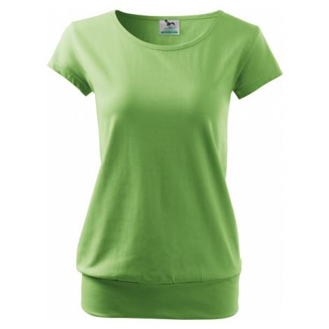 Malfini City Dámské triko 12039 trávově zelená