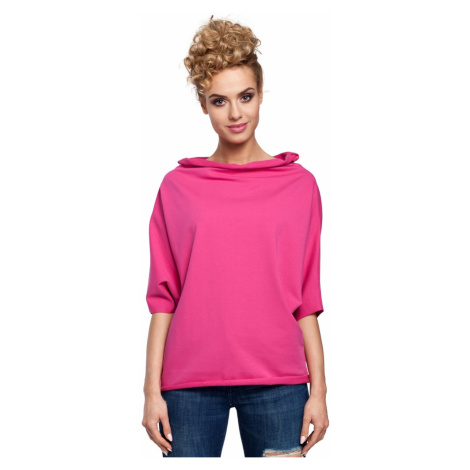 Made Of Emotion Woman's Blouse M285 Fuchsia