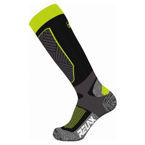 Ponožky Relax Compress RSO30A - černá/žlutá