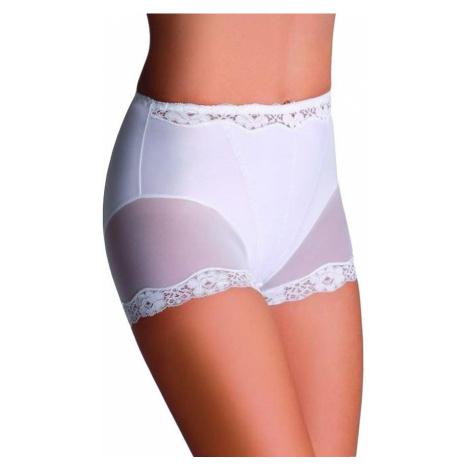 Stahovací kalhotky s nohavičkou Lara bílé Eldar