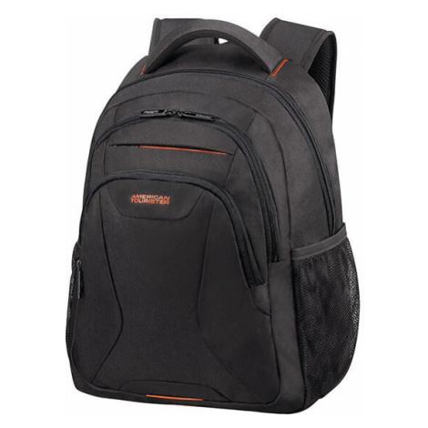 """American Tourister Batoh At Work Laptop Backpack 20,5 l 13.3""""-14.1"""" - černá/oranžová"""