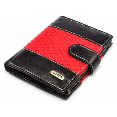 Pánská kožená peněženka tenká Loren
