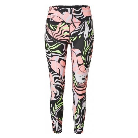 DKNY Performance Kalhoty 'DIZZY' pink / černá / pastelová fialová / světle zelená