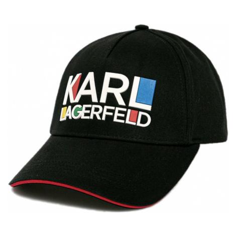Černá kšiltovka KARL LAGERFELD bauhaus