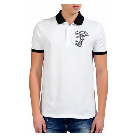 VERSACE COLLECTION pánské tričko s černým logem Medúzy