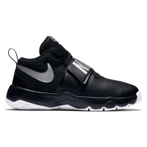 Nike TEAM HUSTLE D 8 GS černá 6.5Y - Dětská basketbalová obuv