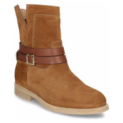 Hnědá dámská kotníková obuv Nero Giardini