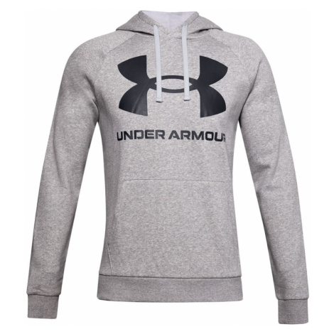 Rival Fleece Big ogo Under Armour Šedá