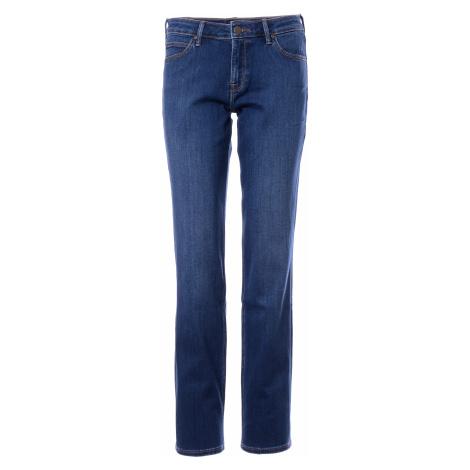 Lee jeans Marion Straight Mid Worn in Ra dámské modré