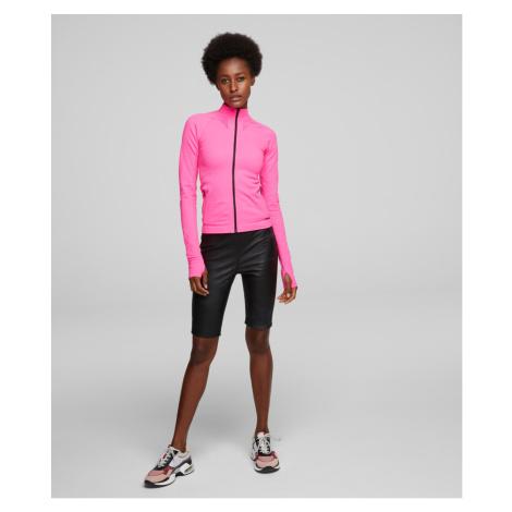 Šortky Karl Lagerfeld Rue St-Guillaume Bike Short - Černá