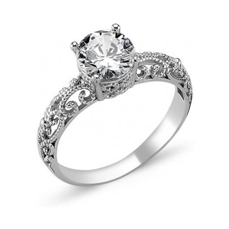 OLIVIE Stříbrný prsten OLIVIE s kubickým zirkonem 1272
