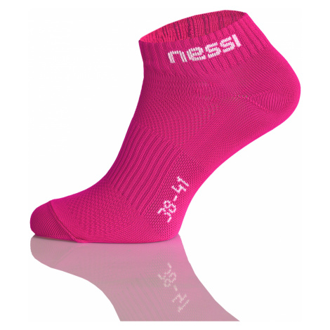 Nessi Kotníkové ponožky STP-05 - Růžová