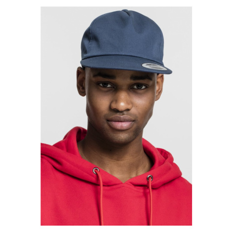 Unstructured 5-Panel Snapback - navy Urban Classics