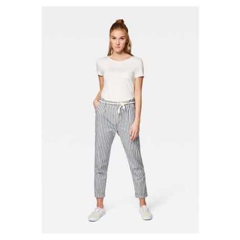 Mavi kalhoty s výsokým pasem 100859-27950