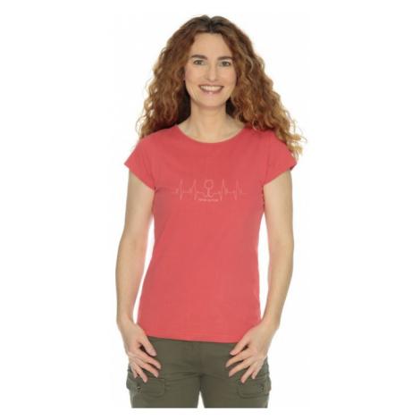 Dámské tričko BUSHMAN NATALIE III červená