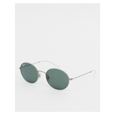 Ray-ban round sunglasses in silver ORB3594
