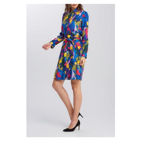 ŠATY GANT D1. SPLENDID FLORAL SHIRT DRESS