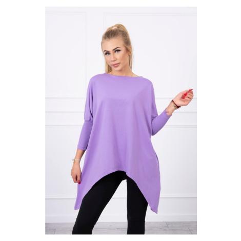 Blouse oversize purple Kesi