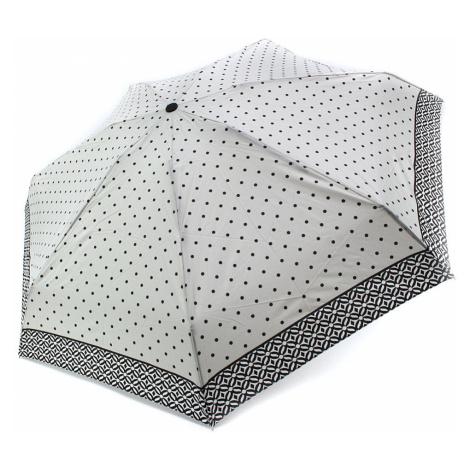 Šedý puntíkovaný skládací plně automatický dámský deštník Sienna Doppler