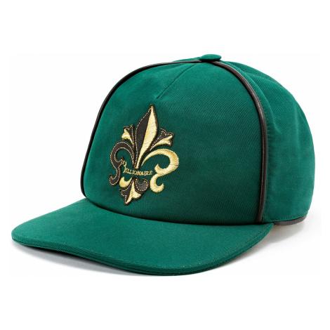 BILLIONAIRE Visor Hat Giglio Zelená kšiltovka