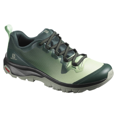 Treková obuv Salomon Vaya W - zelená/bílá/černá