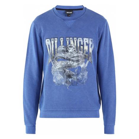 JUST CAVALLI Printed Blue mikina