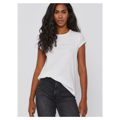 Pepe Jeans dámské bílé tričko BONNIE