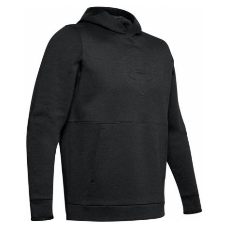 Under Armour Athlete Recovery Fleece Graphic Hoodie Pánská mikina 1344145-001 Black