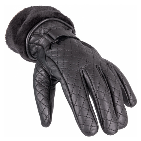 Dámské Kožené Rukavice W-Tec Stolfa Nf-4205 Černá