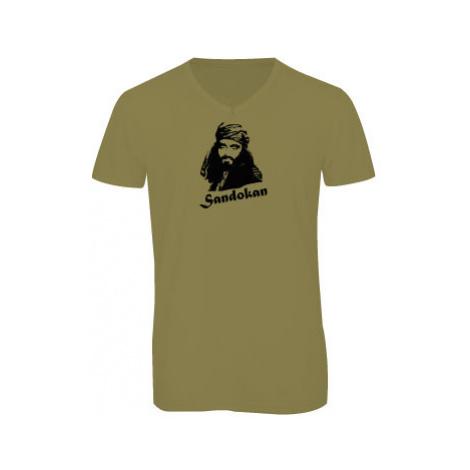 Pánské triko s výstřihem do V Sandokan