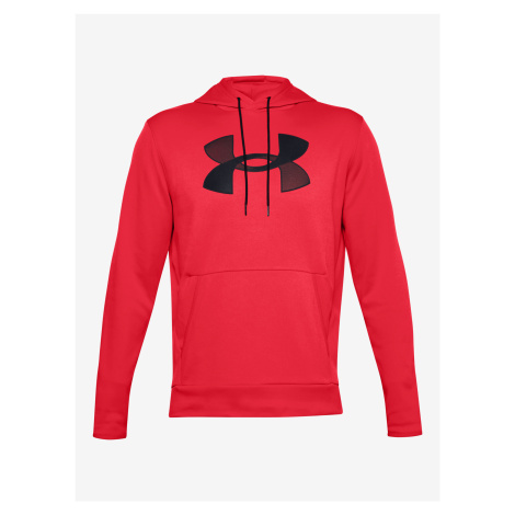 Armour Fleece® Big Logo Mikina Under Armour Červená