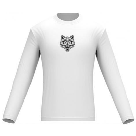 Pánské tričko dlouhý rukáv Vlk
