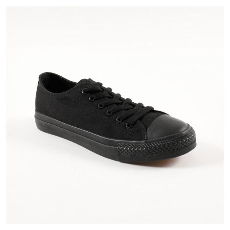 Blancheporte Plátěné tenisky, černé černá