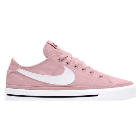Nike Court Legacy Canvas Růžová
