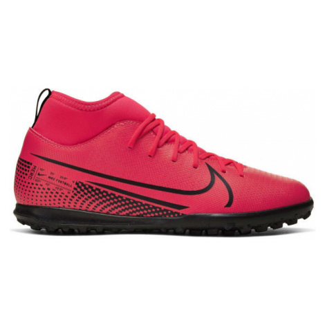 Nike JR MERCURIAL SUPERFLY 7 CLUB TF růžová - Dětské turfy