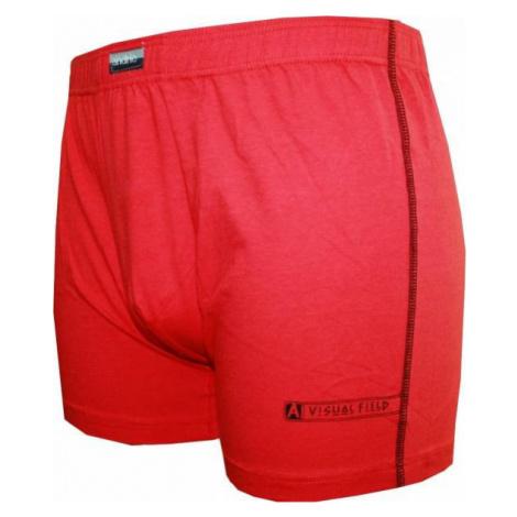 Pánské boxerky Andrie červené (PS 5086 C)