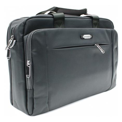 Kvalitní tmavě šedá pánská taška na notebook Cursa Mahel