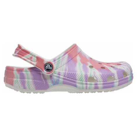 Dámské boty Crocs CLASSIC TIE DYE bílá