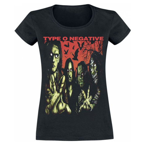 Type O Negative Halloween Dámské tričko černá