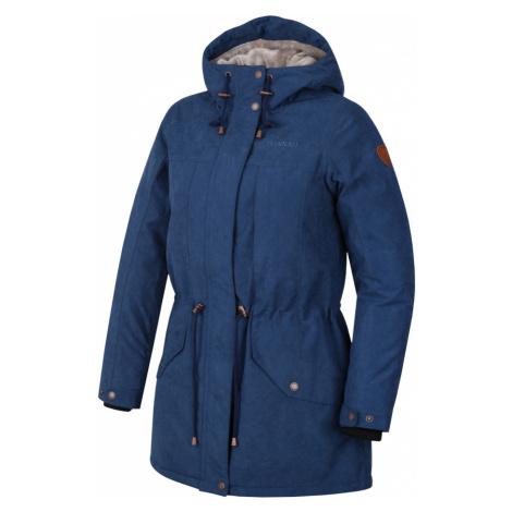 HANNAH ESMAIL Dámský zimní kabát 10000165HHX01 Dark denim