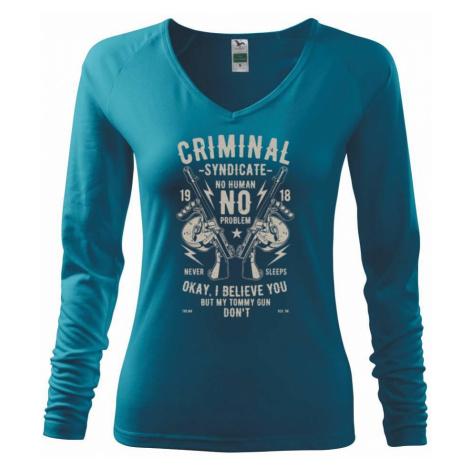 Criminal Syndicate - Triko dámské Elegance