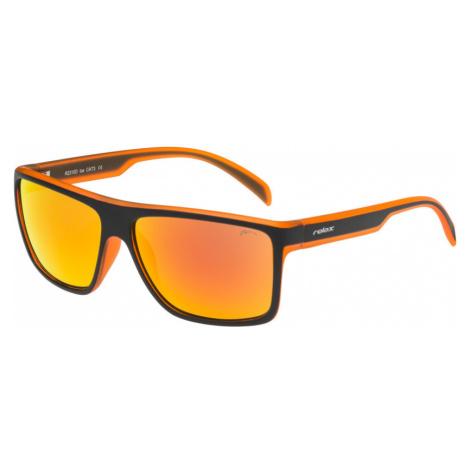 RELAX IOS Sluneční brýle R2310D oranžová 48