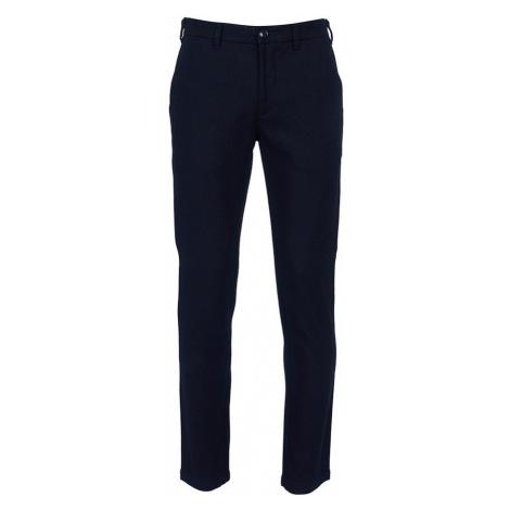 Vlněné kalhoty Barbour Neuston Wool - navy